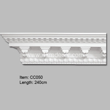 Polyurethane Decorative Dentil Crown Mouldings